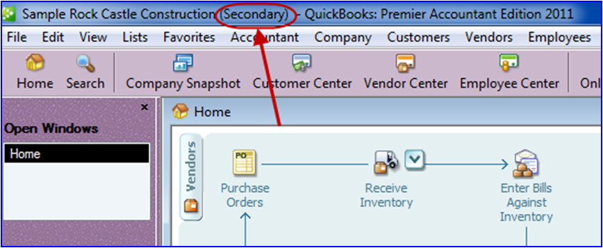 New Multi-Instance in QuickBooks 2011 - Long for Success, LLC
