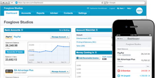 Xero - cloud accounting from iPhone, iPad, Android