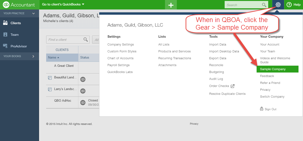 Be Careful Of Using Your Books In Quickbooks Online Accountant As